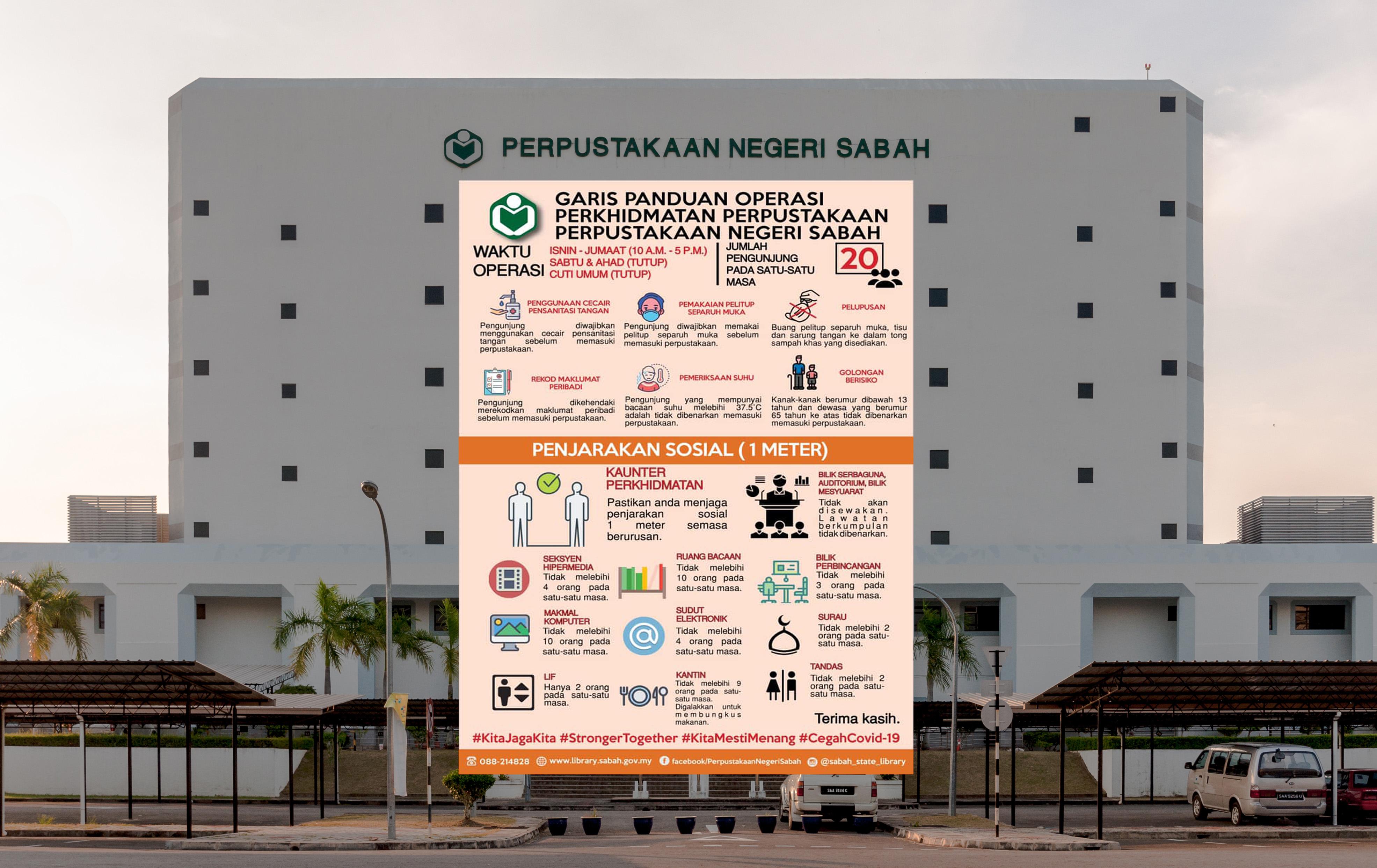 Perpustakaan Negeri Sabah Selamat Hari Natal 2019