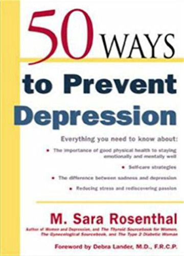 50 ways to fight depression without drugs.