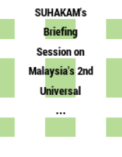 SUHAKAM's Briefing Session on Malaysia's 2nd Universal Periodic Review (UPR) : Kota Kinabalu, 18 July 2014.